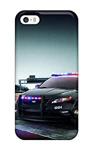 Excellent Iphone 5/5s Case Tpu Cover Back Skin Protector Ford Police Interceptor
