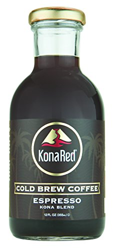 Konared Cold Brew Coffee   Espresso  12 Oz  6 Pack