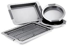 Anolon Suregrip 5-Piece Bakeware Set