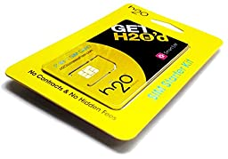 H20 Wireless Micro Mini SIM Card AT&T Unlocked GSM Phone w/ $30 Airtime