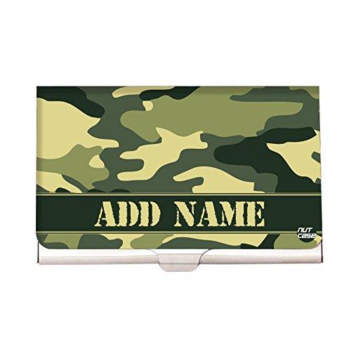 (Army Camo - Personalized Designer Visting Card Holder - Nutcase Army Visting Card Holder)