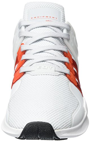adidas Herren Eqt Support Adv Sneaker Grau (Clear Grey/Bold Orange/Footwear White)