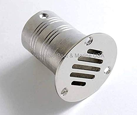 """Amazon.com : Boat Plumbing Fittings - Deck Floor Drain Grate- 2"""" inch - Marine 316 Stainless Steel : Sports & Outdoors"""