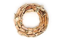 Hinterland Trading Driftwood Wreath, 14 Inch