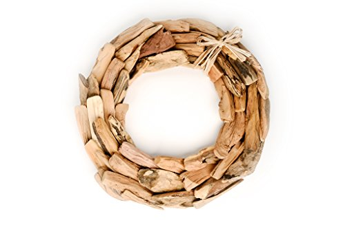 Hinterland Trading Driftwood Wreath, 14 Inch by Hinterland Trading