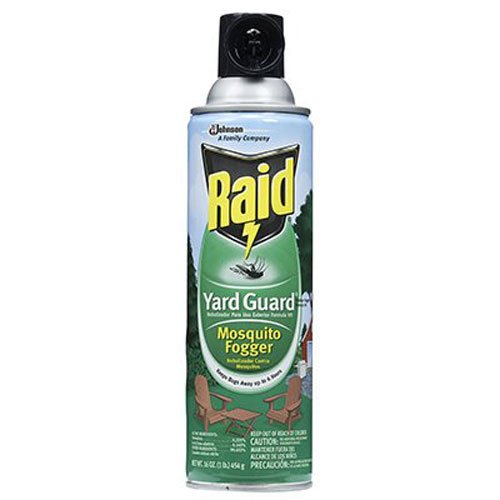 S C JOHNSON WAX 01601 Raid Yard Guard, 16-Ounce