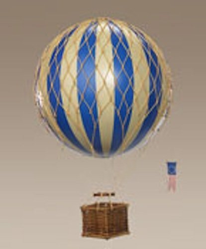 Travels Light Hot Air Balloon (Blue) - Authentic Models - Air Balloon Decorations (Hot Model compare prices)