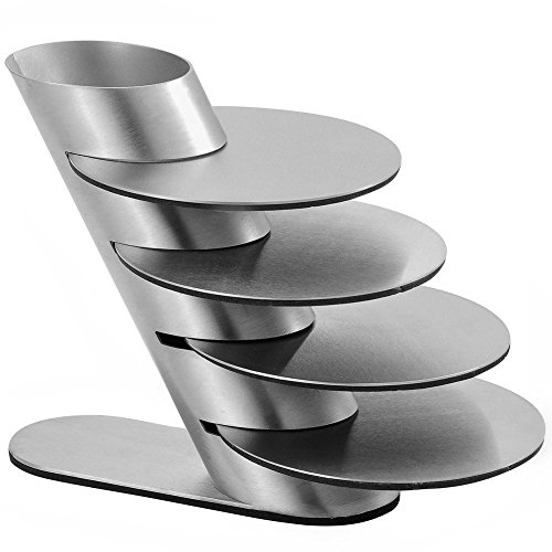 Coaster Set - DopeDecors Stainless Steel Modern Coaster Set of 4