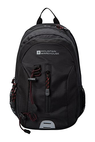 Price comparison product image Mountain Warehouse Merlin 12L Backpack - Airmesh Back Rucksack Charcoal