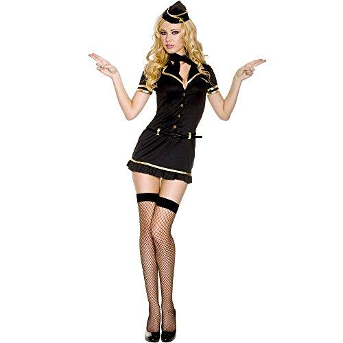 Mile High Club Stewardess Adult Costume - Small/Medium]()