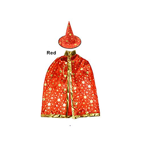 JUSTMODE Children Costumes Stars Style for Halloween and