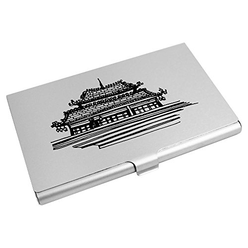 Wallet Business Temple' Credit Holder Azeeda CH00006886 Card 'Chinese Card 0xwU1v4q