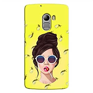 Cover It Up Glasses Lollipop Hard Case For Lenovo K4 Note