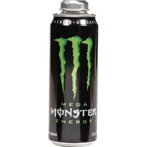 Mega Monster Energy Drink, 24-Ounce Cans (Pack of 12) (Monster Energy Cans)