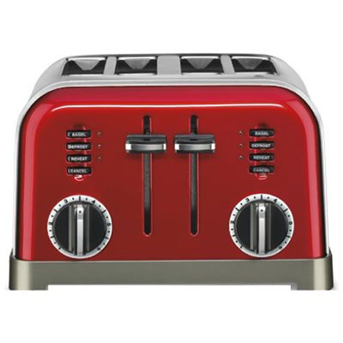 Cuisinart CPT 180MR Classic 4 Slice Metallic