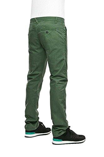 Reell Short Grip Chino Short ARTIKEL-NR. 1200–1007 Verde giungla 34W / 34L