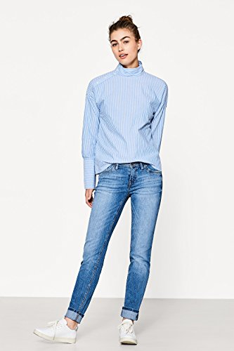 Slim by Vaqueros Washed para edc Blue Esprit Mujer Medium q6Rv1vBtxw