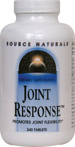 Source Naturals Joint ResponseT -- 240 Tablets - 2PC by Source Naturals