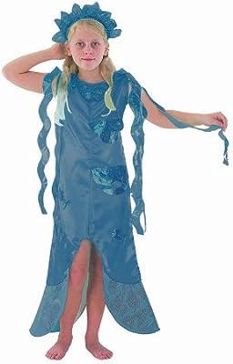 Mermaid - Disfraz de sirena para niña, talla 4-6 años (CC471 ...