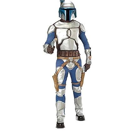 Star Wars tm Jango Fett tm Deluxe Adult Costume - Disfraz, talla 48-50