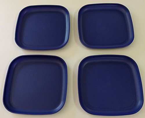Tupperware Luncheon Plates in Tokyo Blue