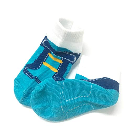 6 Pairs 0-10 month Baby Newborn Ankle Sock Toddler Crew Walkers Bootie Infant Socks (Mixed style 2) by Fly-Love (Image #5)