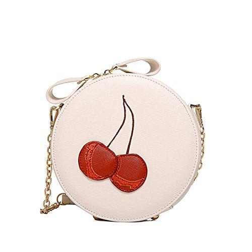 1 Fashion PU Leather Sweet Lady Women's Handbag,Round Buns (Ace Hardware Door Handles)