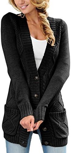 Sidefeel Pocket Cardigan Sweater Button