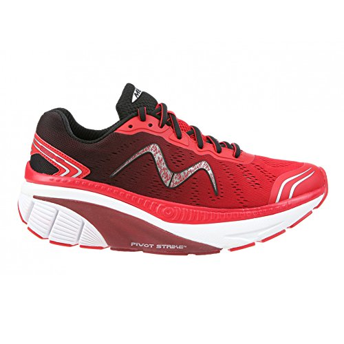 Mbt Mens Toe Shoes 17 M 700905-1126y Rosso 359074 Rosso