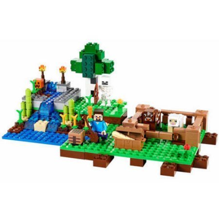 LEGO Minecraft The Farm , Age Range: 8 years and up