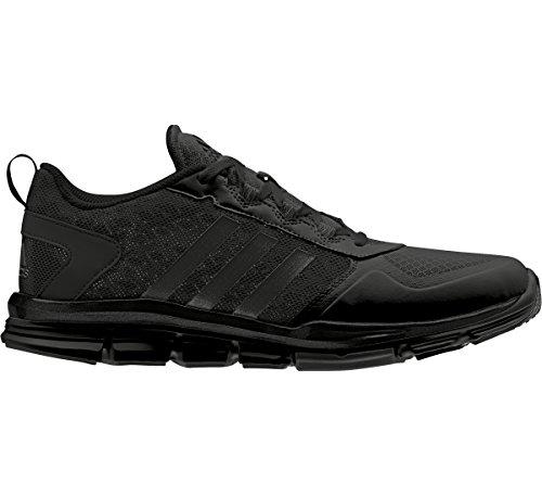 adidas Performance Men's Speed 2 Wide Cross-Trainer Shoe, Black/Black/Black, 15 M US
