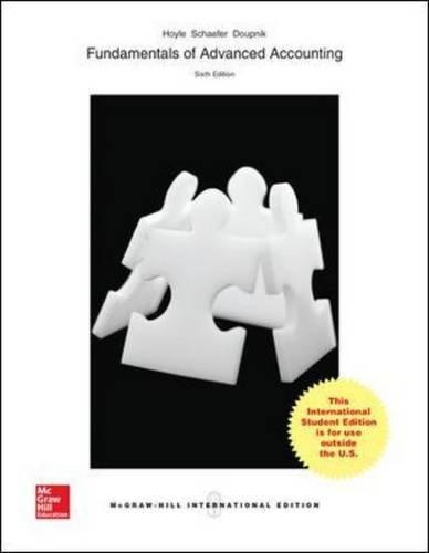 advanced accounting 12 edition - 9