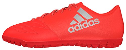 adidas Herren X 16.3 TF Leather Fußballschuhe Rojo (Rojsol / Plamet / Roalre)