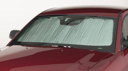 Jaguar Windshield - Covercraft Flex Shade Custom Fit Windshield Shade for Select Jaguar XJ/XJL Models - Radiant Barrier Material (Silver)