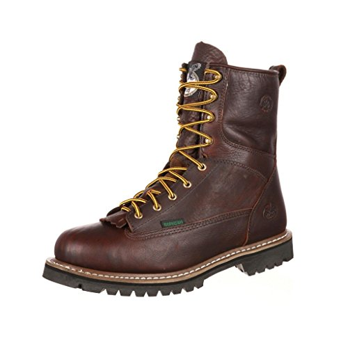 Work Boot Lace Chocolate 8
