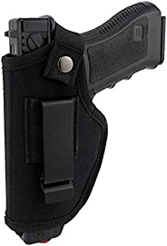 Gexgune Hunting Concealed Belt Holster Tactical Pistol Bags Waistband IWB OWB Gun Holster fits Subcompact to L