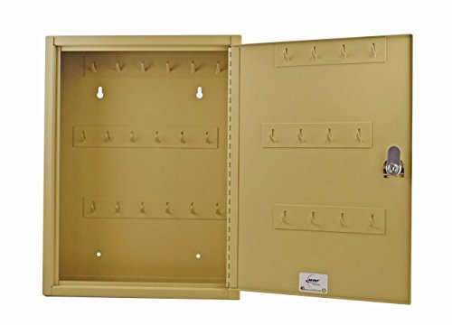 STEELMASTER Fob Friendly Key Cabinet, 30 Key Capacity, Sand (201F03003)