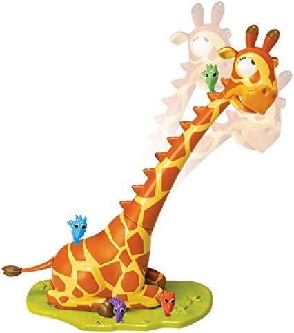 Gaffe A La Girafe Jeu Daction Des Petits Oiseaux Malicieux Tentent De Grimper Tout En Haut Du Cou Dune Girafe Chatouilleuse