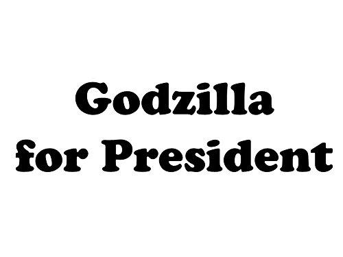 Godzilla for President (Magnet) (Magnet Godzilla)