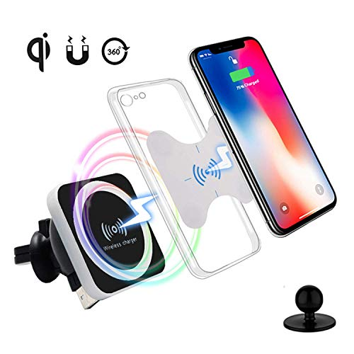QI Wireless Car Charger, Magnetic Wirele