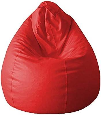 Awe Inspiring Aark Large Bean Bag Red Bean Bag Chair Faux Leather Aark Ncnpc Chair Design For Home Ncnpcorg