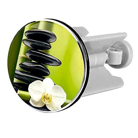 EUGAD Universal Waschbeckenst/öpsel Waschbeckenstopfen 40 mm Abflussstopfen f/ür alle handels/üblichen Waschbecken und Bidets