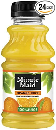 Minute Maid Juice, Orange, 10 Ounce (Pack of 24)