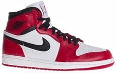 dc503db66d8 Nike Mens Air Jordan 1 Retro High 2013 Chicago White Varsity Red-Black  Leather Basketball Shoes Size 12