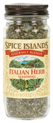 Spice Islands Italian Herb Seasoning, .65-Ounce (Pack of 3)