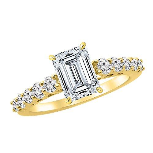 0.68 Ct Emerald Cut Diamond - 3