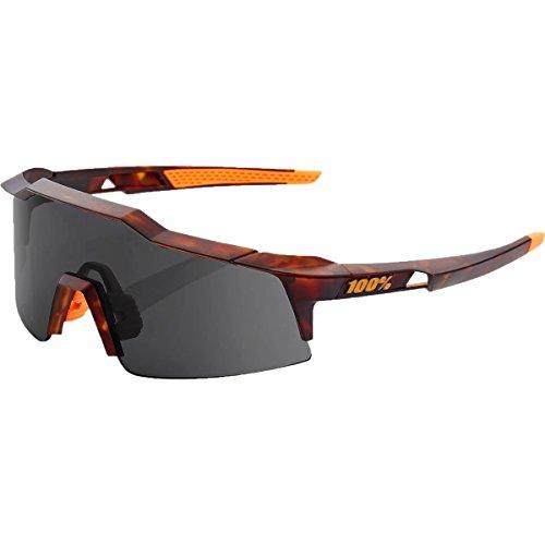 100% SpeedCraft SL Sport Sunglasses Matte Dark Havana-Smoke Lens, One Size - - Sunglasses Havana Orange
