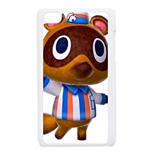 iPod Touch 4 Case White Animal Crossing New Leaf 007 Vgyej