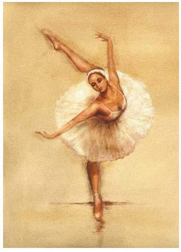 Amazon Com Ballerina I By Caroline Gold Fine Art Giclee Print On Gallery Wrap Canvas Ready To Hang Posters Prints