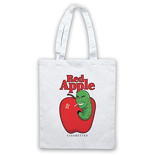 Red Apple Cigarettes Tarantino Fake Brand Bolso Blanco